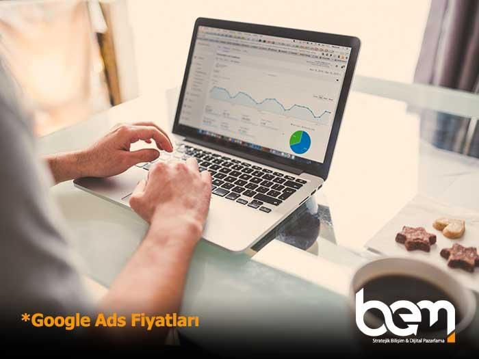 Google Ads Fiyatları Öne Çıkan Görsel