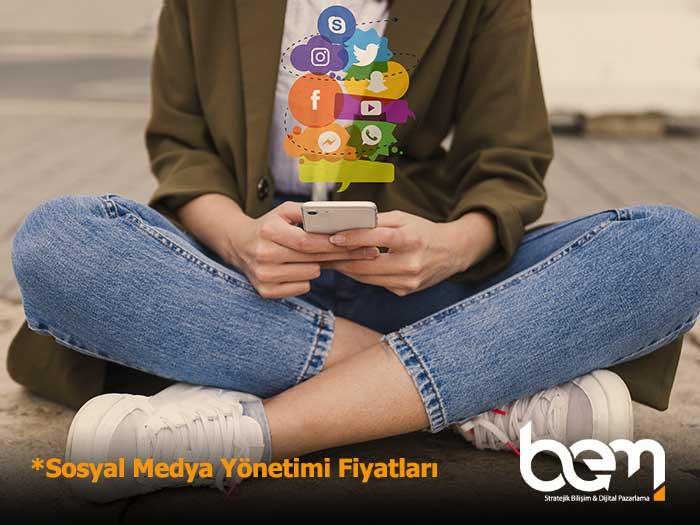 Sosyal Medya Yönetimi Fiyatları Öne Çıkan Görsel