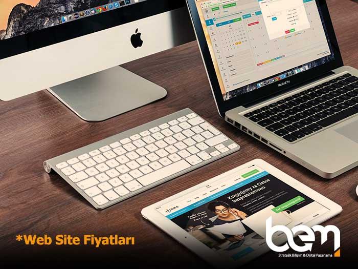 Web Site Fiyatları Ön Çıkan Görsel